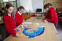 Harbury C of E Primary School Mosaic