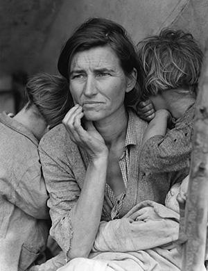 Migrant Woman - Dorothea Lange