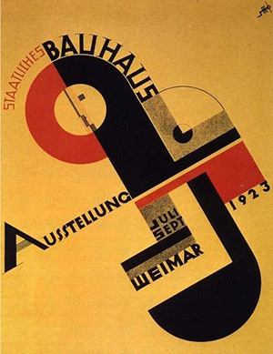 Poster for the Bauhaus Austellung (1923)